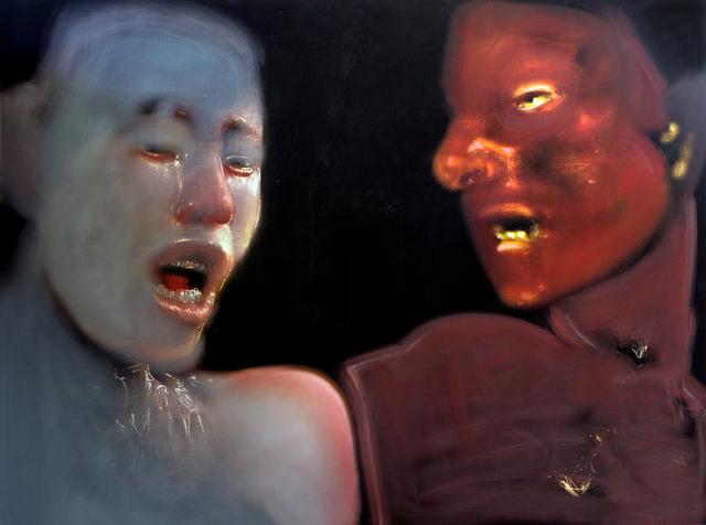 , 'Lovers Series No. 43,' 2017-2018, Charles Nodrum Gallery