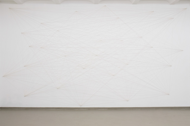 , 'Wall Drawing 815: Thirty points connected to one another,' 2009, EXILE