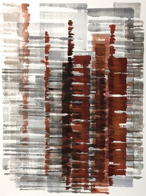 Julian Jackson, 'Heater', 2021, Drawing, Collage or other Work on Paper, Watercolor on paper, Kathryn Markel Fine Arts