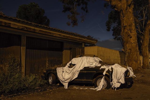 , 'Sleeping Car, Garth Avenue,' 2013, Fahey/Klein Gallery