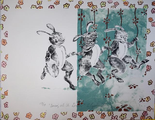 , 'Dancing into the Garden,' 2007, ArtHelix Gallery