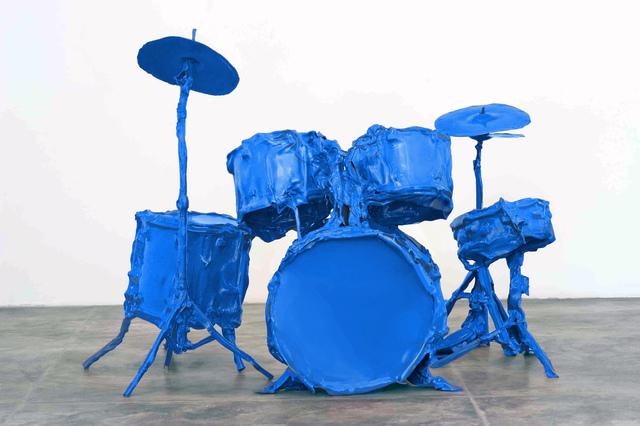 , 'Bateria Azul / Blue Drums,' 2013, Galeria Marilia Razuk