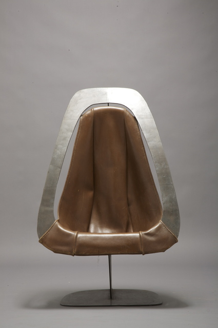 , 'Leather chair,' ca. 1970, Magen H Gallery