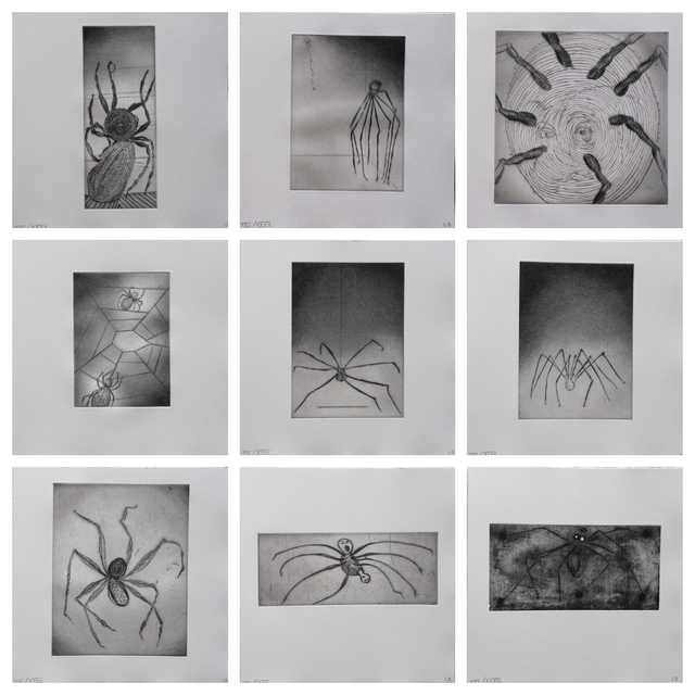 Louise Bourgeois, 'Ode A Ma Mere - portfolio (9)', Unknown, Kunzt Gallery