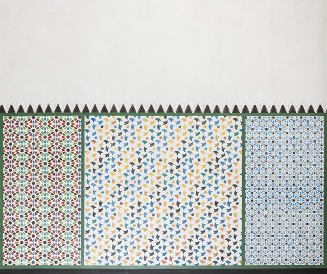 , 'Alhambra Motifs II,' 2013, Galerie Buchholz