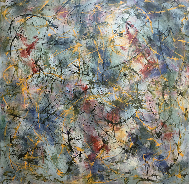 David Skillicorn, 'Coniferous', Painting, Mixed Media, THE WHITE ROOM GALLERY