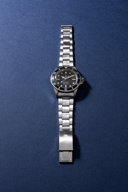 Rolex, 'A fine and rare stainless steel diver's wristwatch with sweep center seconds and bracelet', Circa 1967, Phillips