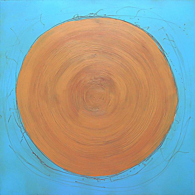 , 'Warm Blue,' 2017, J GO Gallery