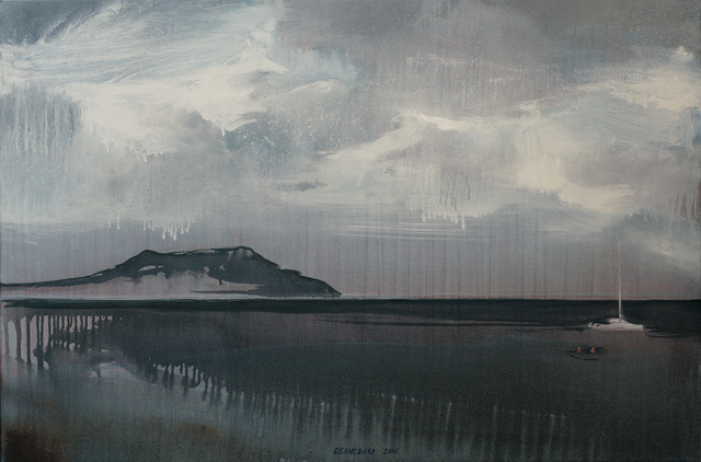 Oleksii Beliusenko, 'Catamaran with Cap Meganom on the Background (#1)', 2016, Saphira & Ventura Gallery