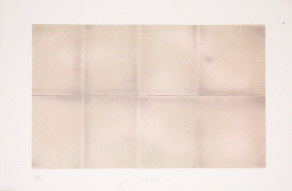 , 'Grey Folded Clouds - III Pink and Green,' 1971, Bernard Jacobson Gallery