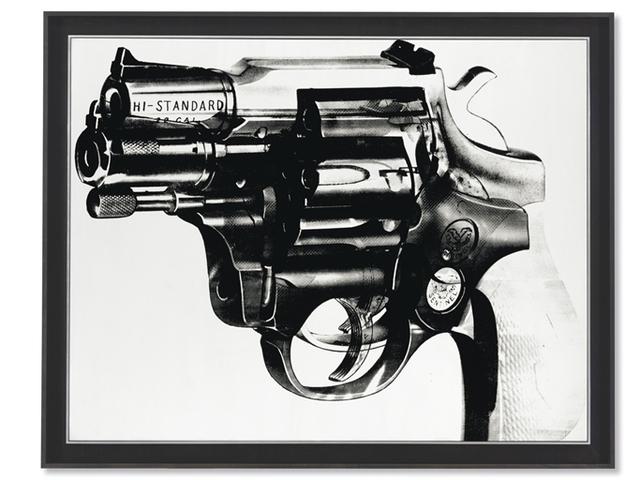 Andy Warhol, 'Gun', Christie's
