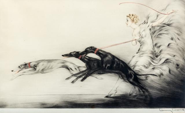 Louis Icart, 'Vitesse (SPEED II)', 1933, Print, Etching, drypoint and aquatint, Hindman