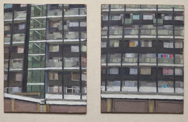 , 'Studies- Flats,' 1985-1986, Flowers
