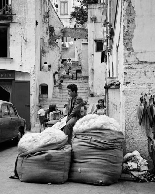 , 'Venditore Di Lana (Wool Vendor),' Amalfi 1957, Arthill Gallery