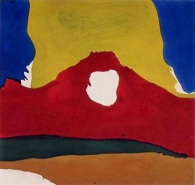 , 'Floe IV,' 1965, Helen Frankenthaler Foundation