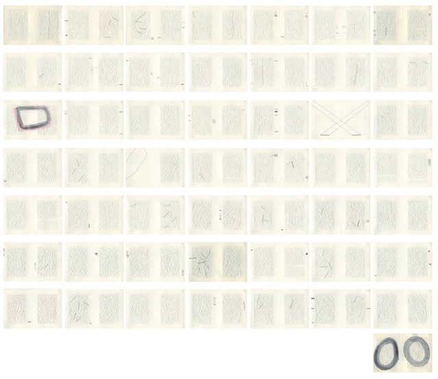 , 'Second Censored Letter to The Mother with notes, 50 units (White),' 2013-2015, Travesia Cuatro