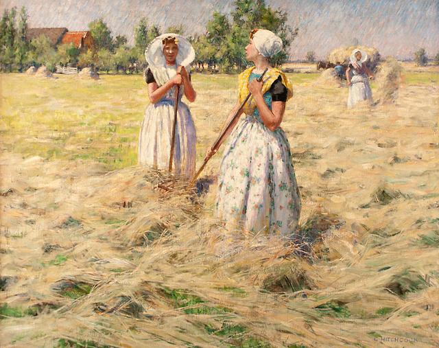 , 'Haymakers, Zeeland,' ca. 1890, Caldwell Gallery Hudson