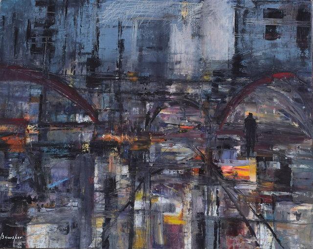 Steven Bewsher, 'Bridge Street Salford', Gateway Gallery