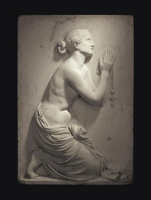 Lorenzo Bartolini, 'La Preghiera (The Prayer)', Sculpture, Marble, Christie's Old Masters