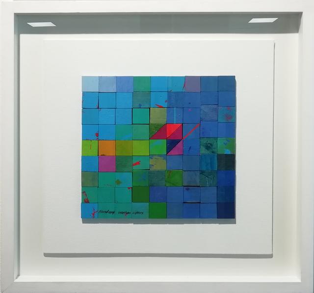, 'Atom Block 10 ,' 2018, The Melrose Gallery