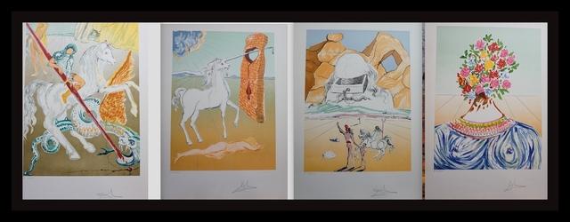Salvador Dalí, 'Retrospective Complete Suite 4 Pieces', 1978, Fine Art Acquisitions