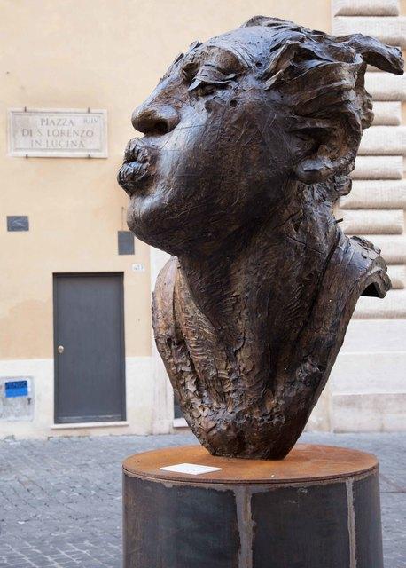 , 'Cabeza de Hombre Soplador Grande,' 2011, Barbara Paci Art Gallery