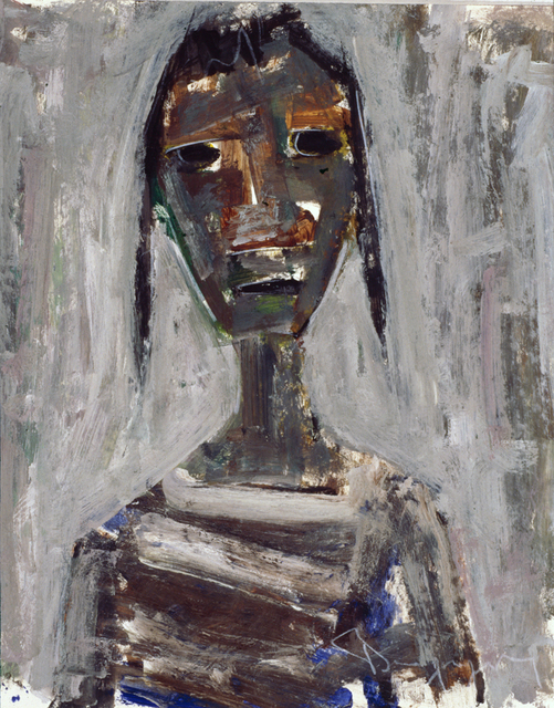 Paul-Henri Bourguignon, 'Girl with Braids', Eisele Fine Art