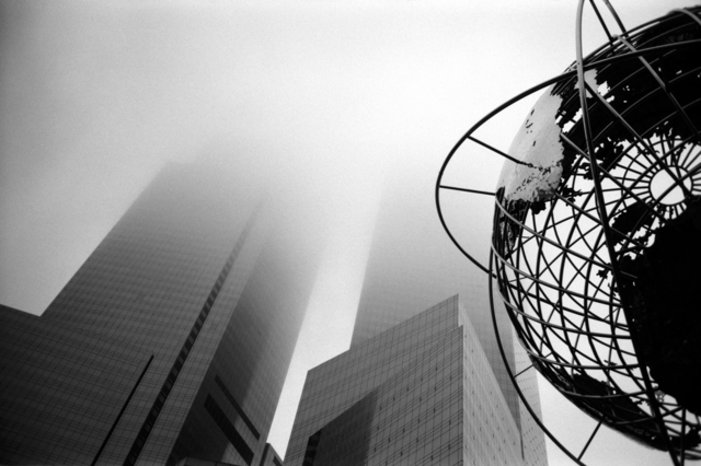 , 'Columbus Circle Fog,' 2009, Fusion Art