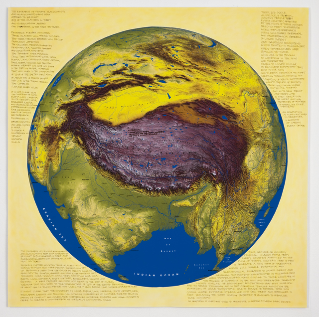 , 'Force Majeur Variation: Tibet Is the High Ground,' 2011, Ronald Feldman Gallery