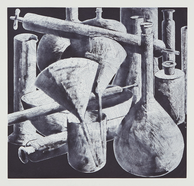 Tony Cragg, 'Laboratory Still Life No. 4', 1988, Print, Etching and aquatint, on Somerset Textured paper, with full margins., Phillips