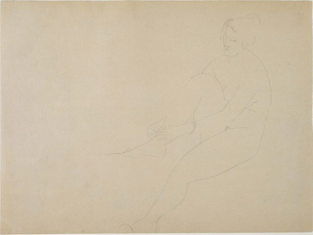 Amedeo Modigliani, 'Nude', Date unknown, Phillips Collection