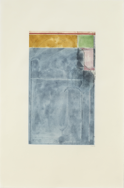 , 'Large Light Blue,' 1980, Susan Sheehan Gallery