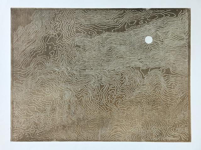 Lisa Schonberg, 'Earth, Wood & Blue Moon', 2018, The Bonfoey Gallery