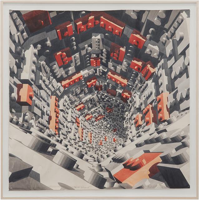 , 'Pasillo hexagonal,' 2019, Sabrina Amrani