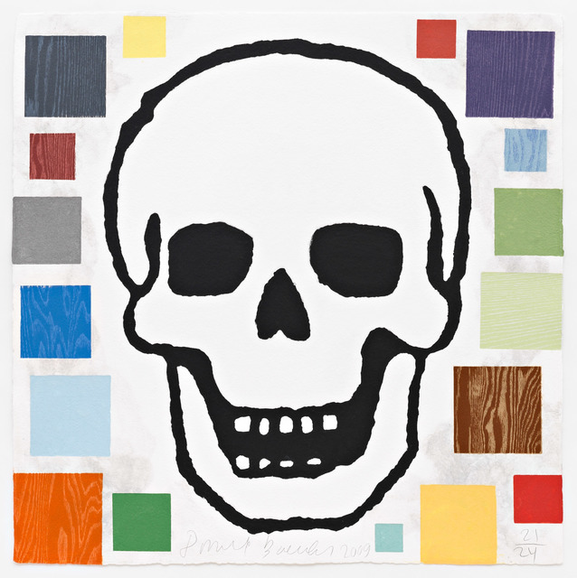 , 'Abstract Composition with Skull,' 2009, Pace Prints