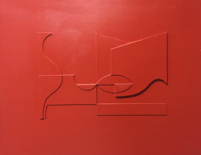 , 'Boceto de relieve rojo,' 1959, Durban Segnini Gallery