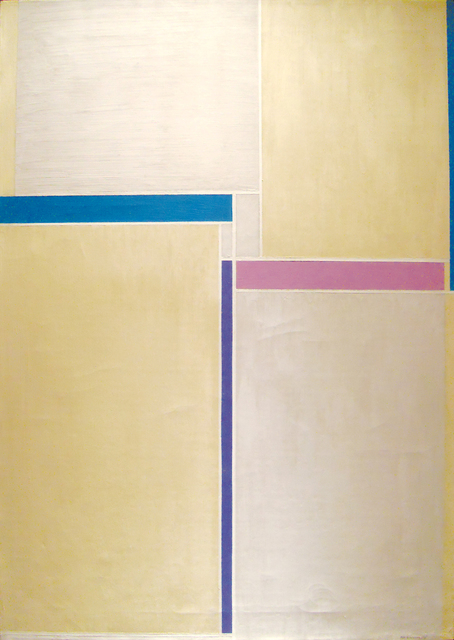, 'Naples Yellow & Grey,' 1958, Anita Shapolsky Gallery