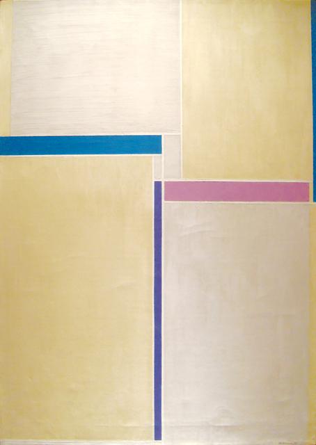 Ilya Bolotowsky, 'Naples Yellow & Grey', 1958, Anita Shapolsky Gallery