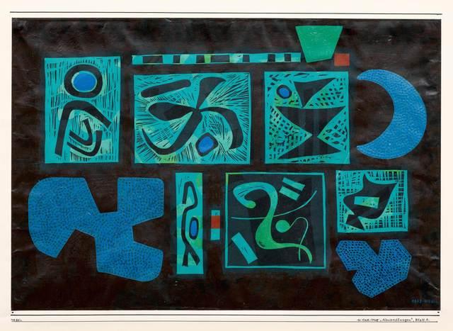 Otto Nebel, 'Abwandlungen', 1968, Koller Auctions