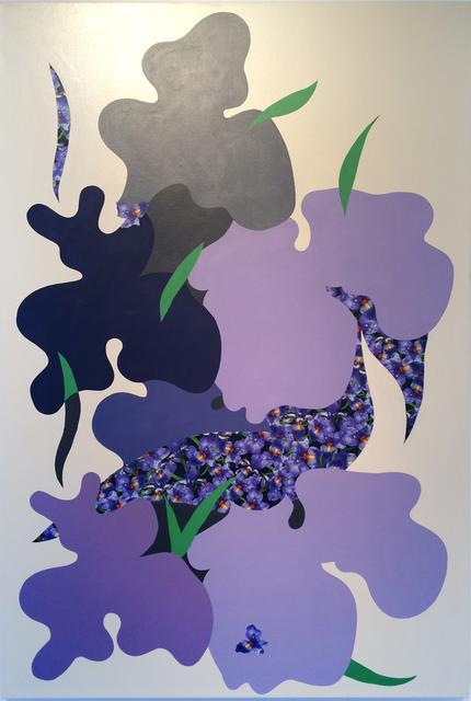 , 'State Flower Iris,' 2016, Galleri Urbane
