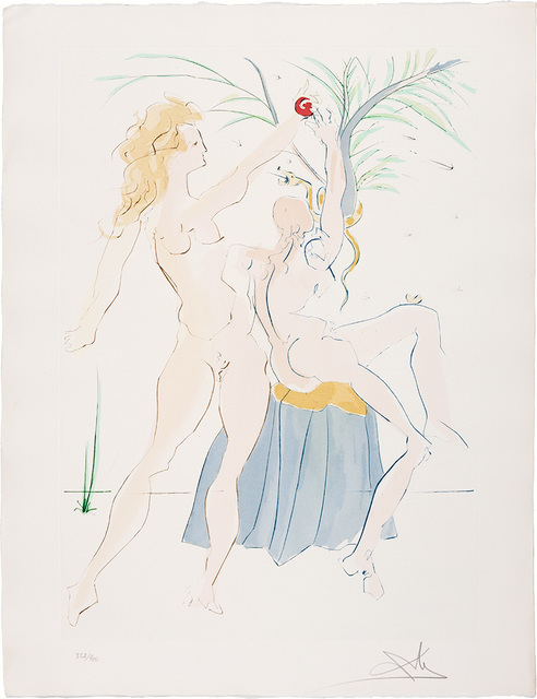 Salvador Dalí, 'Our Historical Heritage', 1975, Print, Complete set of 11 color drypoints and pochoirs, on Arches paper, Doyle