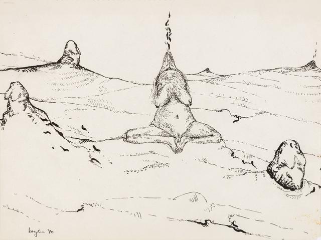 , 'Holy smoke,' 1970, Stevenson
