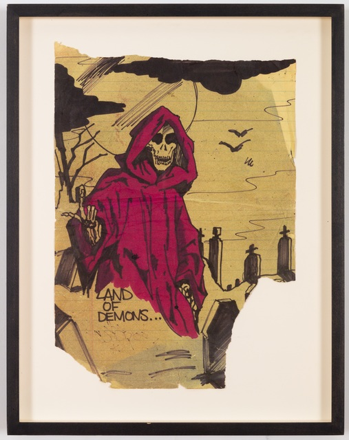 , 'Land Of Demons (Hell Express) Study #1,' 1979, James Fuentes