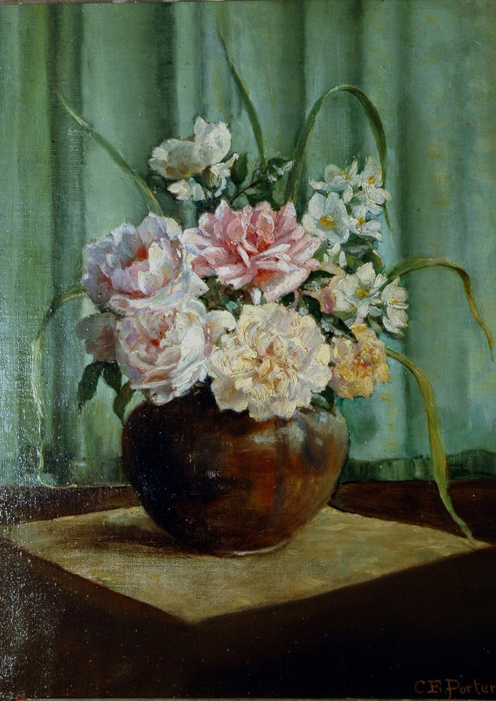 Untitled Still Life with Flowers