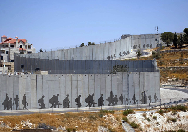 , 'Wall apartheid is fleeting,' 2017, Shababek