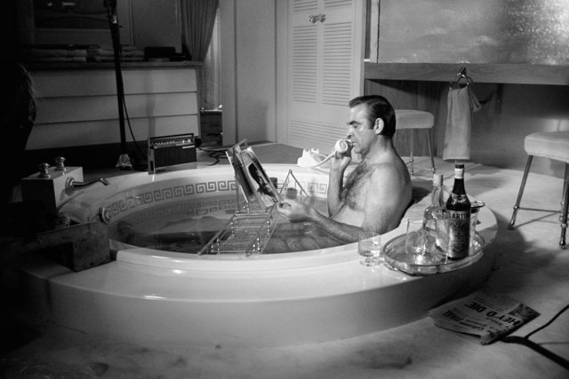 Terry O'Neill, 'Sean Connery as James Bond', 1971, OSME Fine Art