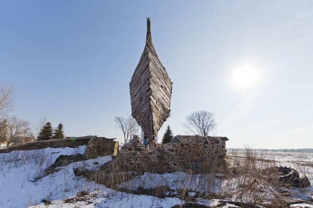 , 'Celestial Ship of the North (Emergency Ark) aka The Barnboat, #8420,' 2016, David Klein Gallery