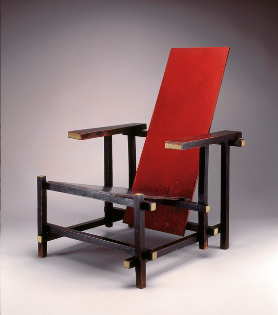 , 'Red Blue Chair,' 1918, Friedman Benda