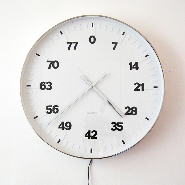 , 'Life Clock,' 2006, Galerie Laurence Bernard