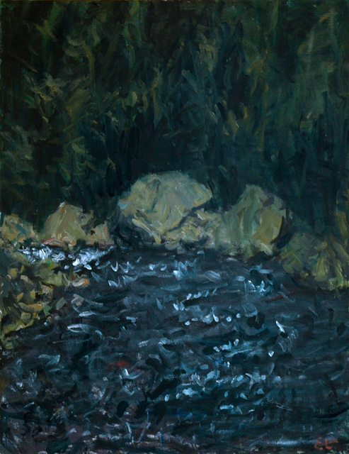 , 'Rocks and Water,' 1996, C. Grimaldis Gallery